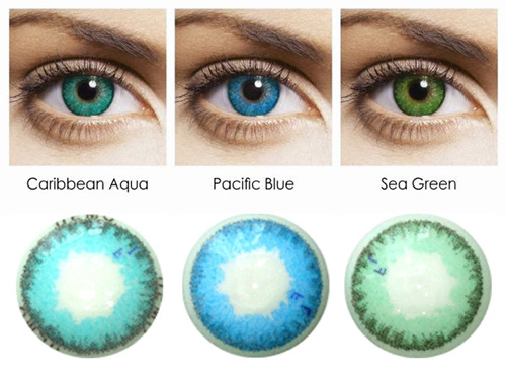 FreshLook Dimensions colors