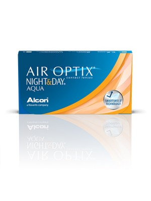 AirOptix Night & Day Aqua 3 tk