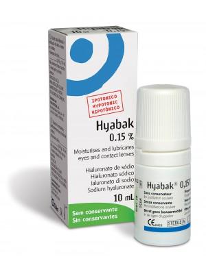 Hyabak 10ml 966 €/l