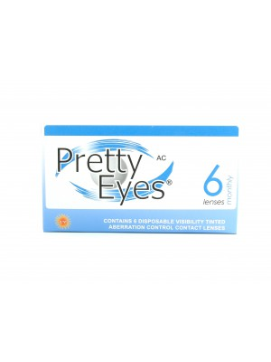 Pretty Eyes AC Monthly Clear 6 tk