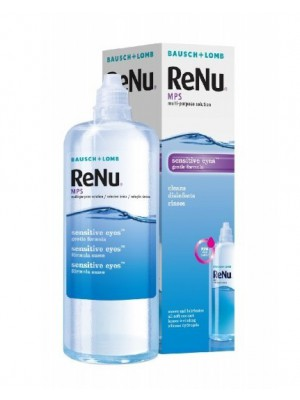 ReNu MPS tundlikele silmadele 360 ml + konteiner 23,6 €/l