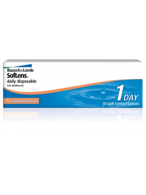 Soflens Daily Disposable Toric 10 tk